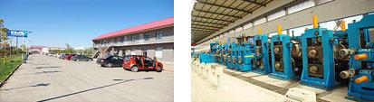 美德钢管公司场景及设备